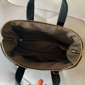 Fendi Bags - Fendi Chameleon Black Leather Zip Top 2 Way Bag